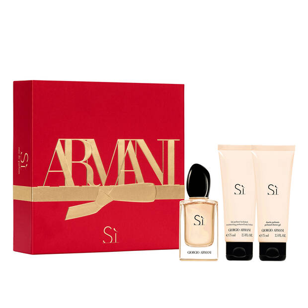 Sì Eau De Parfum 50 ml and Body Lotion Holiday Gift Set