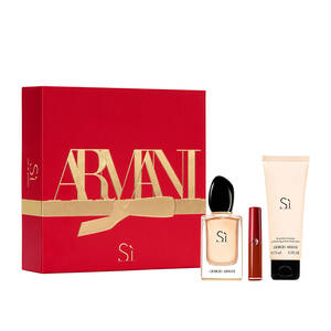 Sì Eau De Parfum and Mini Lip Maestro Holiday Gift Set